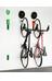 Cycloc Endo pyöräteline seinään , vihreä